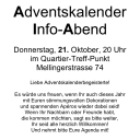Informationen zu den Adventsfenstern 2010