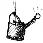 Ihre Geschichte / Ihre Giesskanne / Ihre Vase