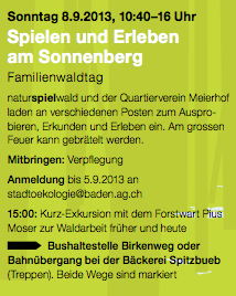 Familienwaldtag Info