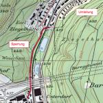 Sanierung Dättwilerstrasse und Brücke Kehl Einbau Deckbelag Dättwilerstrasse