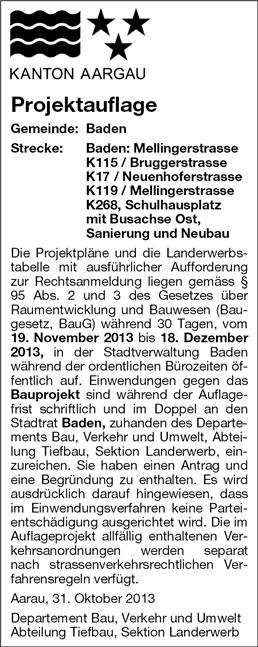 Projektauflage Schulhausplatz