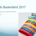 Info-Abend Badenfahrt 2017