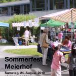 Sommerfest Meierhof mit dem / der schnellsten Meierhöfler*in